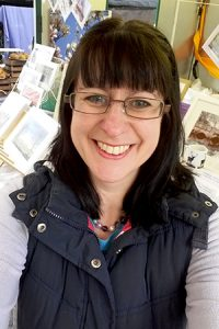 Selfie of Jane Mucklow Photography at Sevenoaks Market
