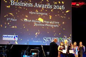 Home Enterprise winners at the Sevenoaks Business Awards 2016