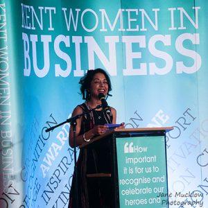 Deborah Turner at the 2017 Kent Women in Business Awards