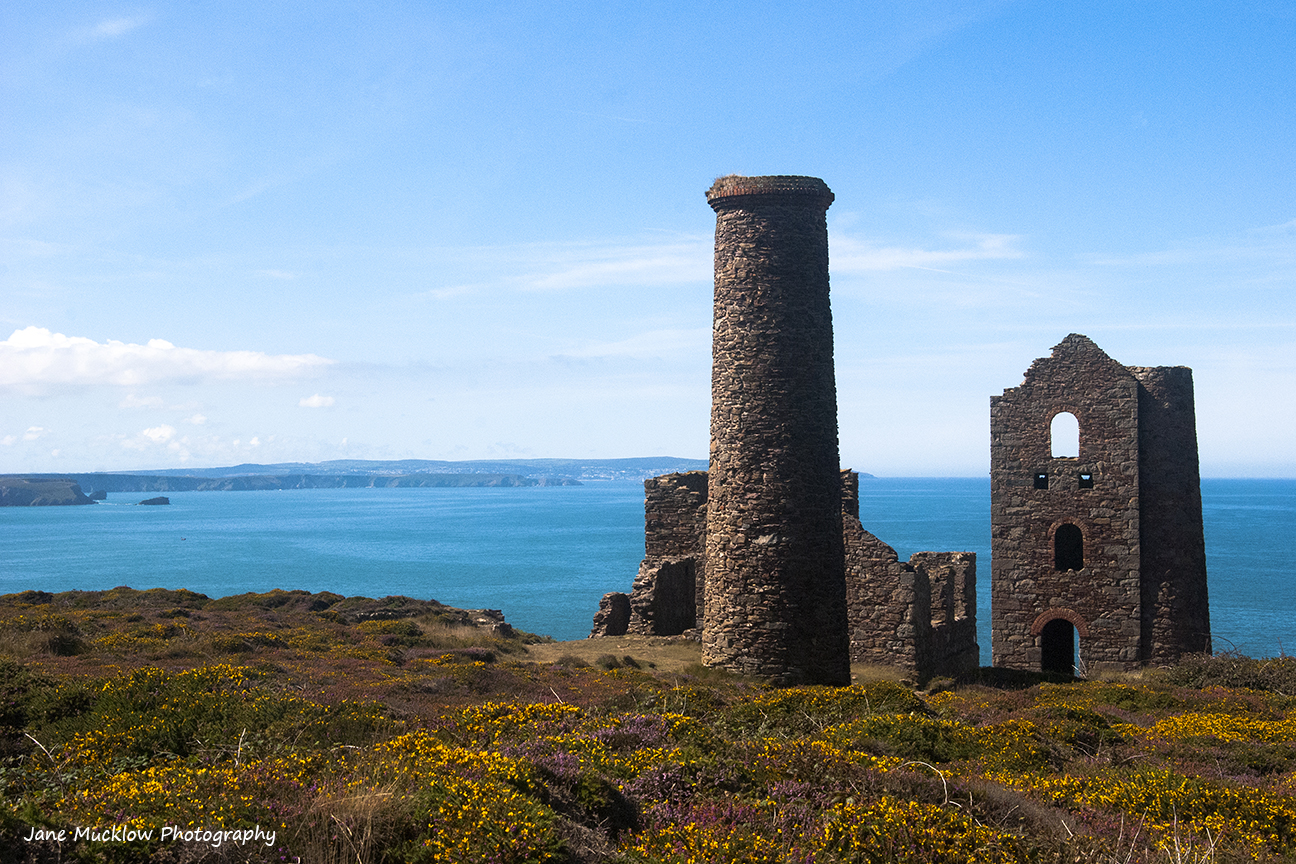 Mine ruins of Wheal Coates, St. Agnes, Cornwall