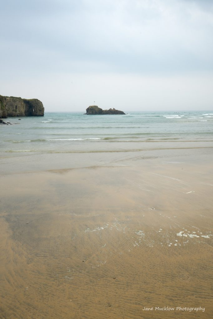 Photograph of Perranporth Beach by Jane Mucklow