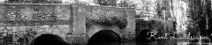 Photograph of Shoreham Bridge by Jane Mucklow, Kent Landscapes page header image