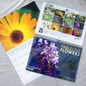Flowers 2018 Calendar cover image by Jane Mucklow Photography