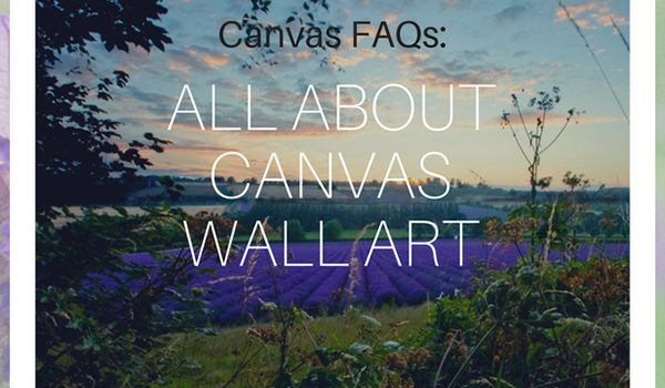 All about my canvas wall art