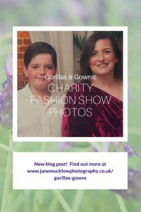 Pin post for charity fashion show blog