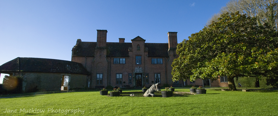 Exterior photograph of the Port Lympne Hotel by Jane Mucklow