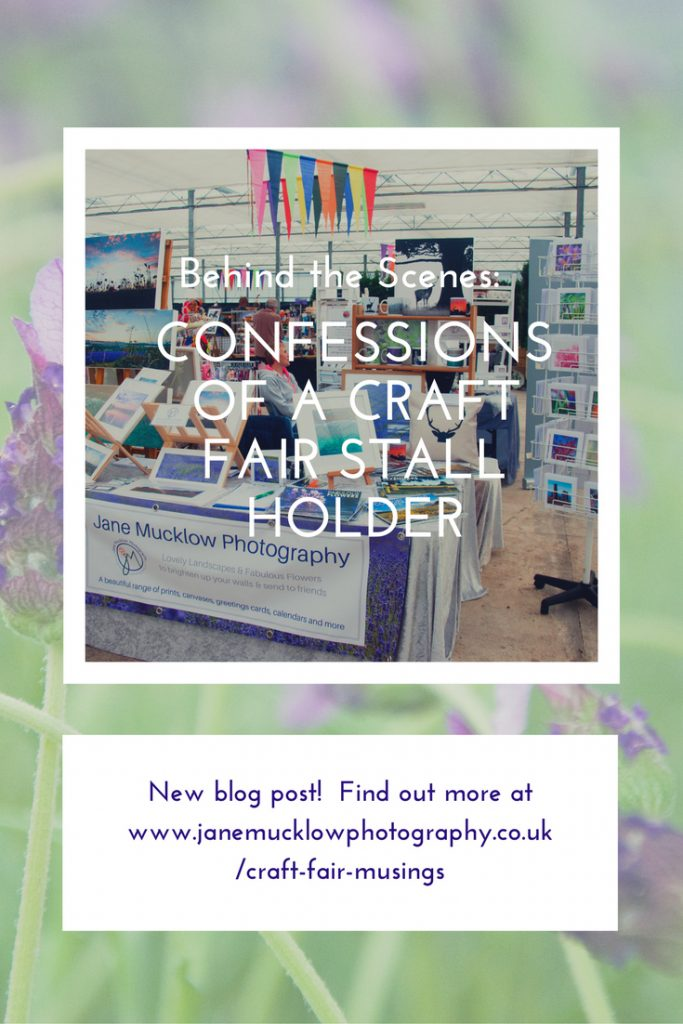Craft Fair confessions blog post title
