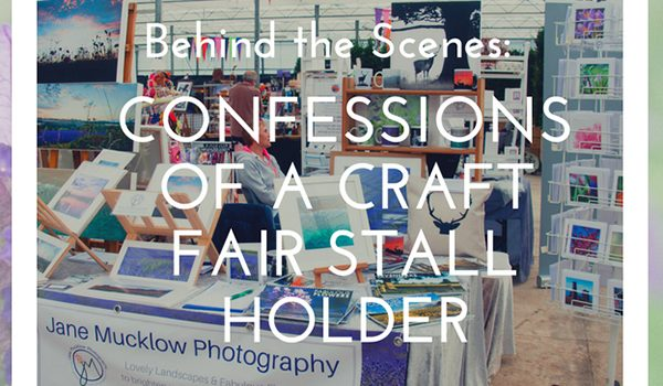 Behind the scenes of a craft fair