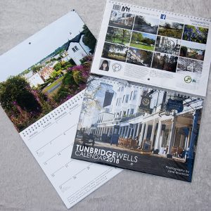 Tunbridge Wells 2018 Calendar cover image by Jane Mucklow Photography