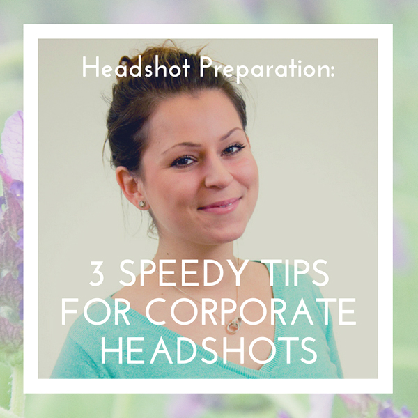 Headshot photo example, for featured post photo for blog on 3 tips for speedy headshots