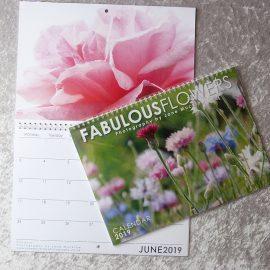 Fabulous Flowers 2019 Calendar