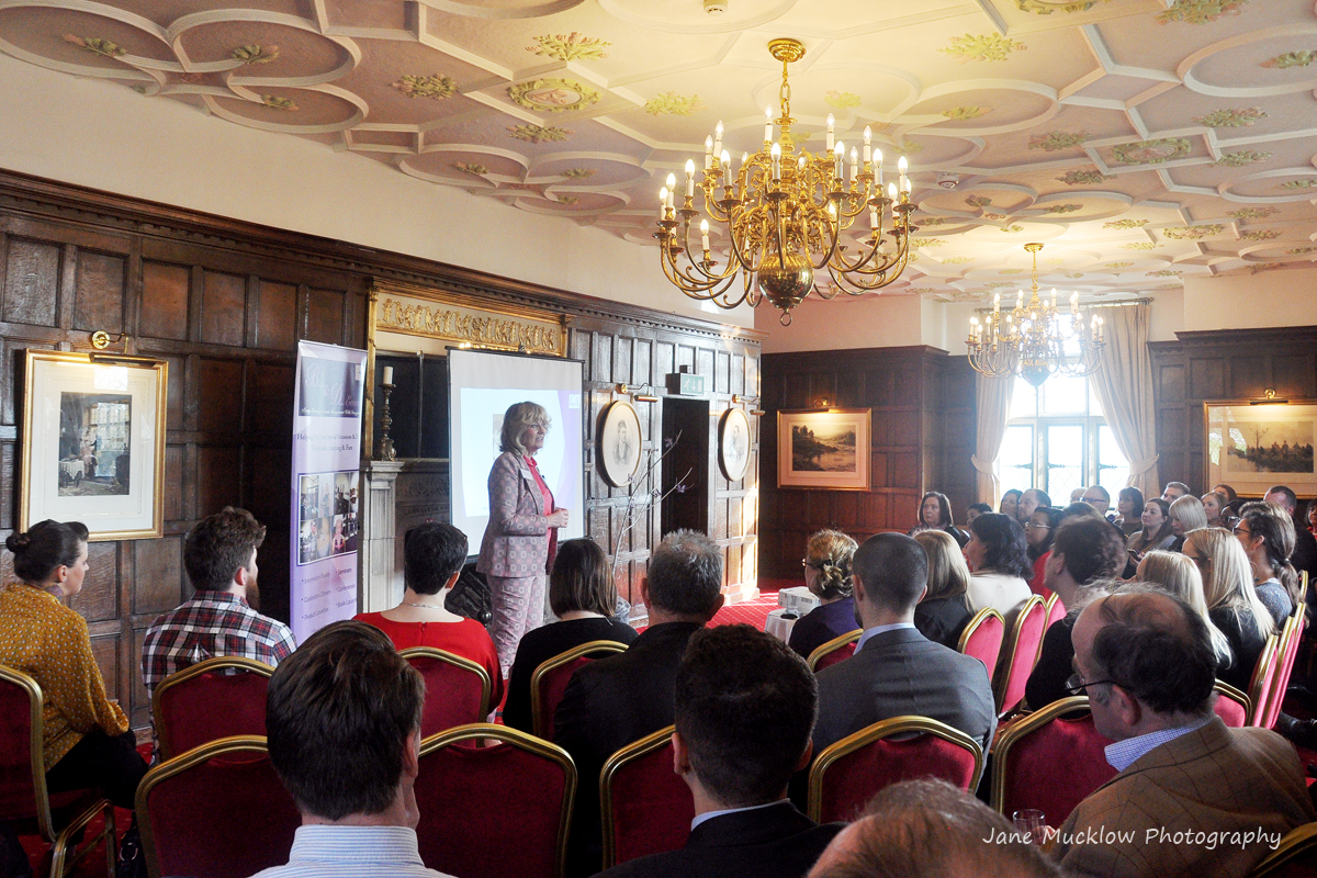 Photo of the first Networkers Networking event, with Aly Harrold speaking, by Jane Mucklow
