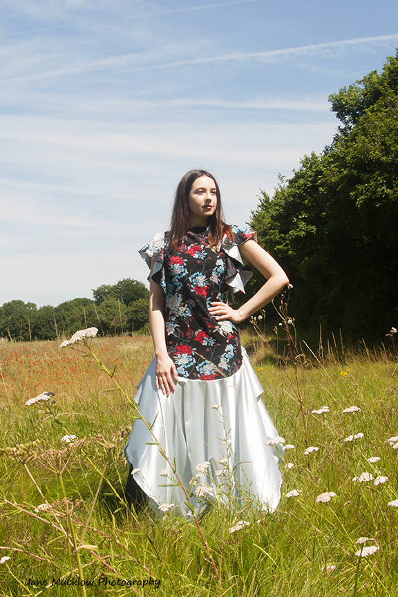Photo of a dress by Caroline Bruce Designer Dresses, by Jane Mucklow