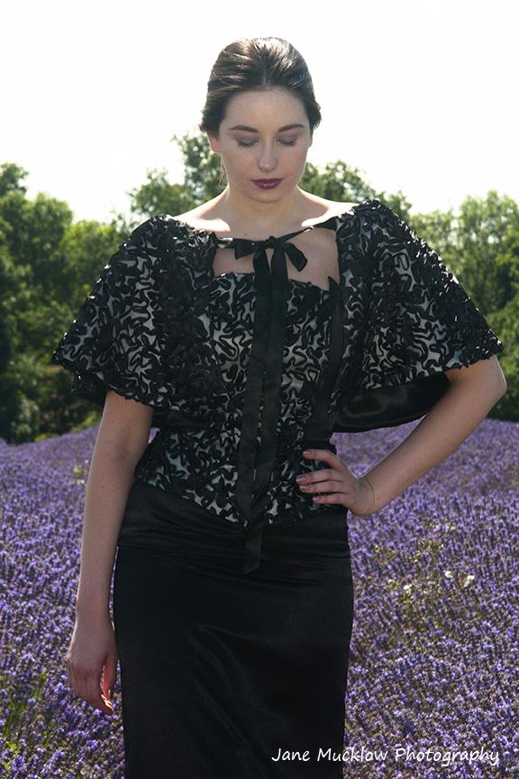 Photo of a dress by Caroline Bruce Designer Dresses, by Jane Mucklow