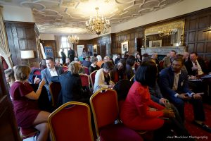Photograph of the Networkers Networking event at Eastwell Manor, Feb18 by Jane Mucklow