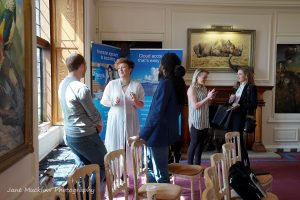 Photo of networking at the Networkers Networking event at Port Lympne, by Jane Mucklow