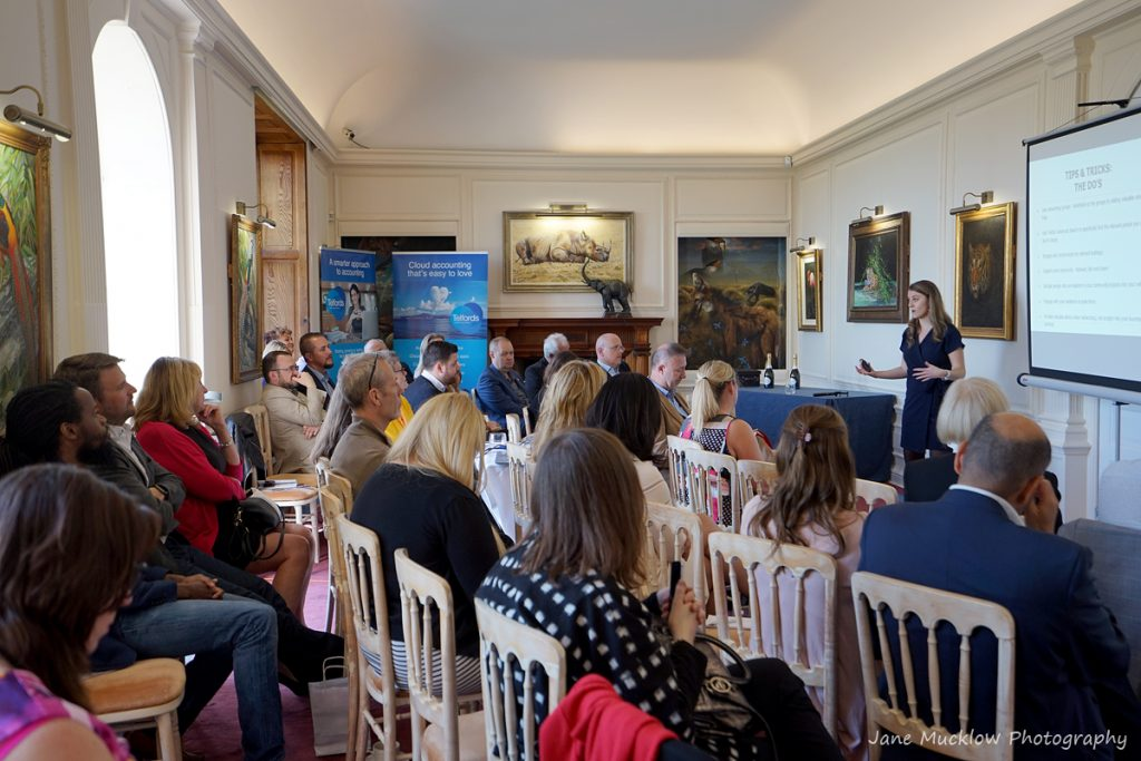 Photograph of the Networkers Networking event at Port Lympne by Jane Mucklow