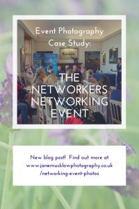 Blog pin post for Event Photography photos of the Networkers Networking event at Port Lympne