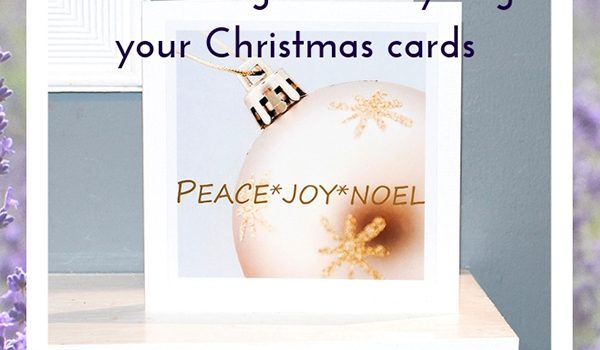 blog post header for Twelfth Night and reclycling Christmas cards blog by Jane Mucklow