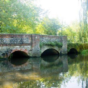Photo of Shoreham Bridge in summer sunshine by Jane Mucklow