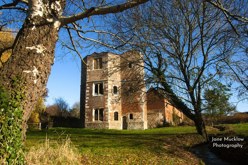Photo of Otford Palace, Autumn sunshine, by Jane Mucklow