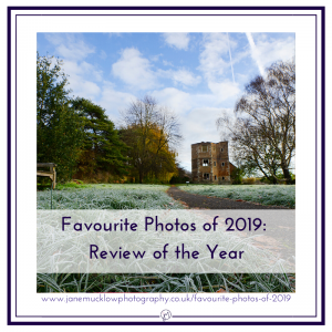 Blog featured image photo, by Jane Mucklow, of Otford Palace in the frost