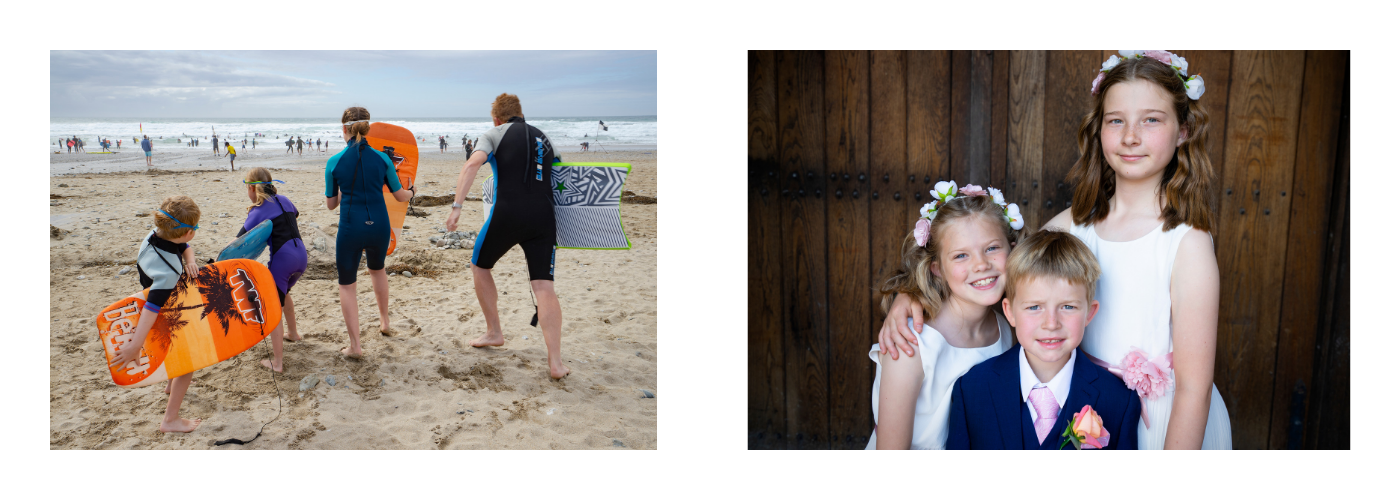 Photos of my family by Jane Mucklow