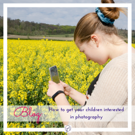 How to get your children interested in photography