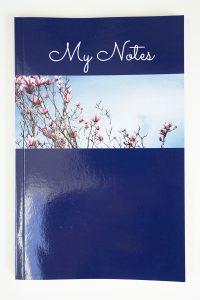 Jane Mucklow Photography A5 lined notebook with magnolia photo
