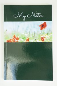 Jane Mucklow Photography A5 lined notebook with poppies photo