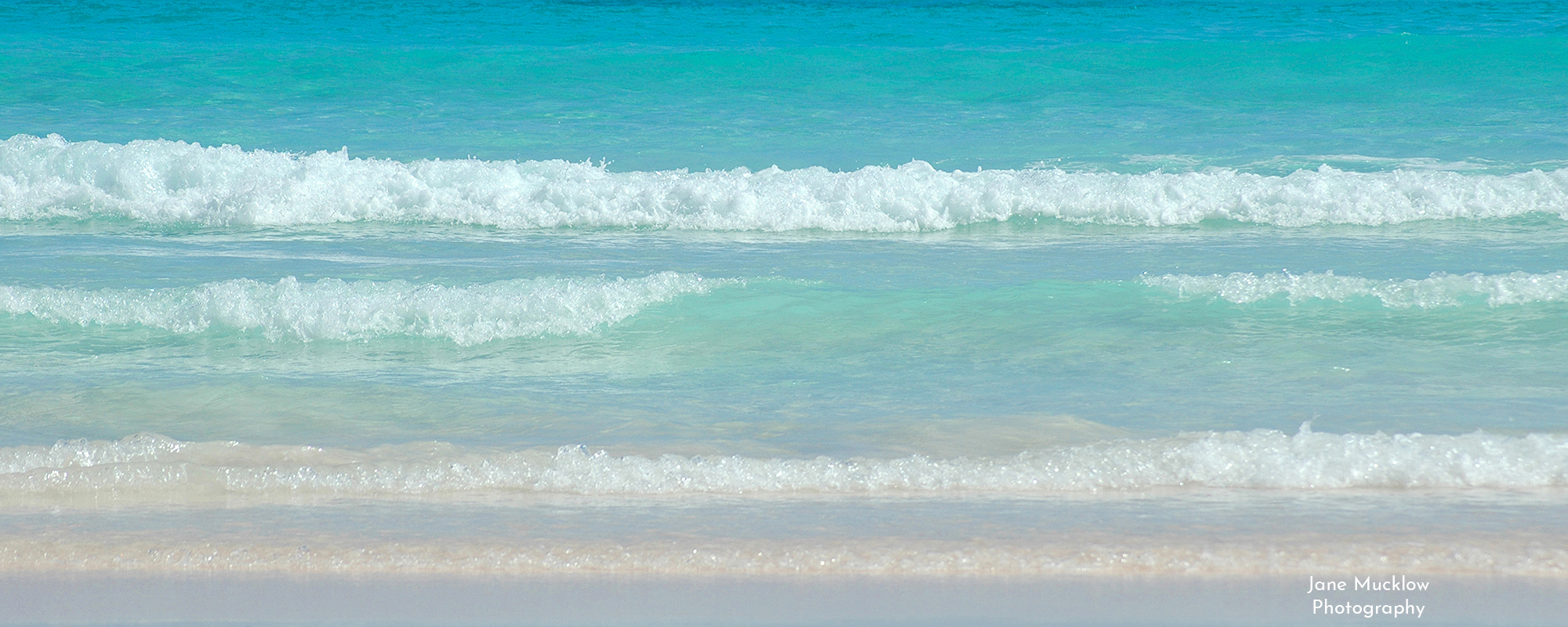 Photo by Jane Mucklow of the Sea, in Bermuda (#1), available as a canvas for your wall.