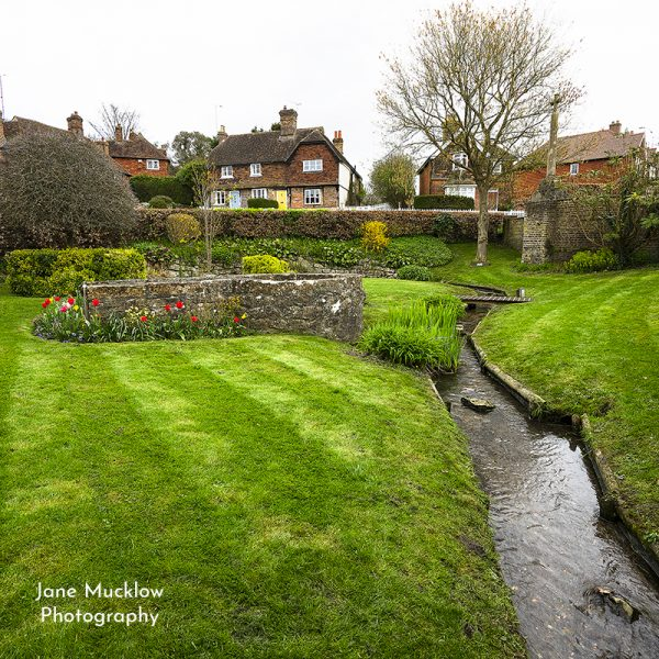 Photo of Kemsing by Jane Mucklow, the well in summer