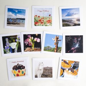 Pack of birthday cards, all of photographs by Jane MucklowPack of birthday cards, all of photographs by Jane Mucklow