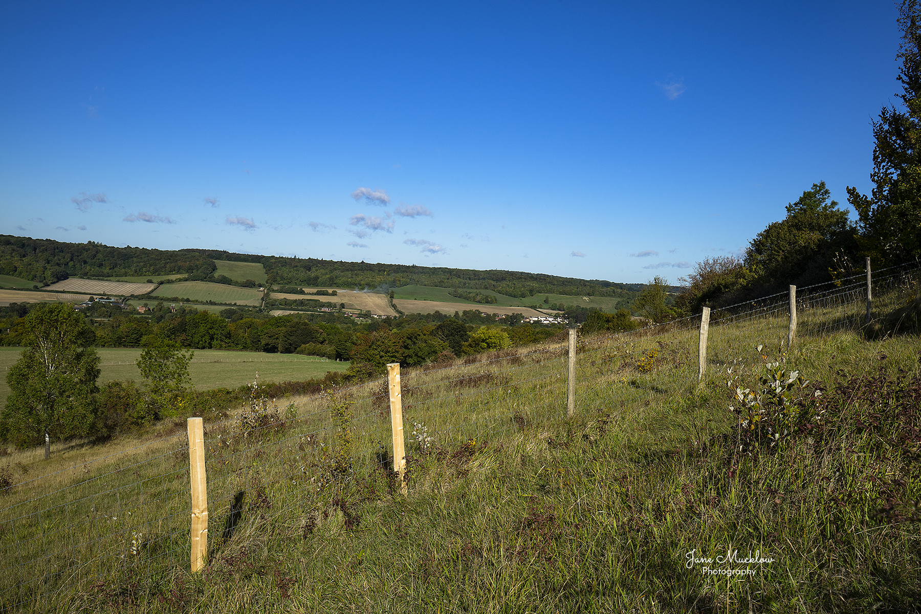 Photo of the view to Shoreham Cross for Otford Mount, by Jane Mucklow